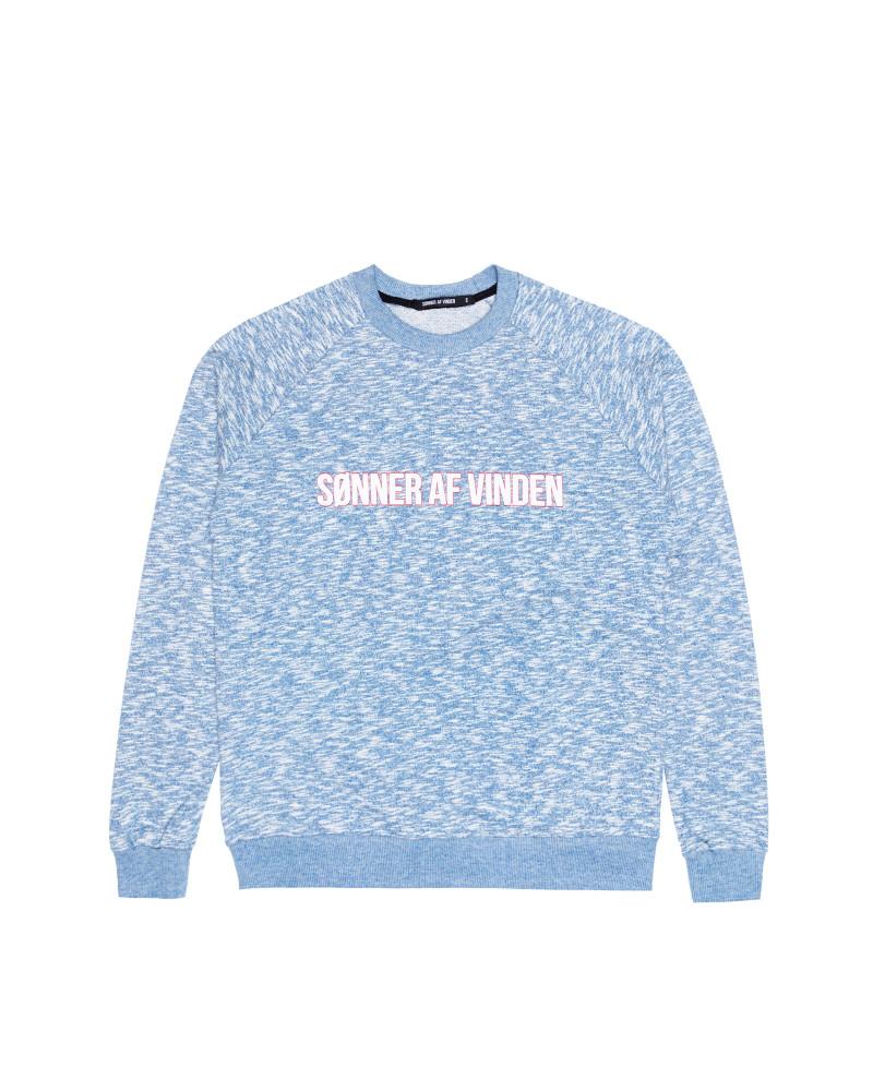 Свитшот Sønner Af-Vinden Bar Logo Heather Blue Sweatshirt