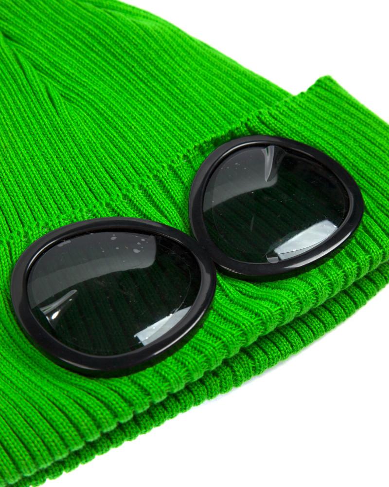 Шапка C.P.Company Goggle Cotton Beanie Hat Green