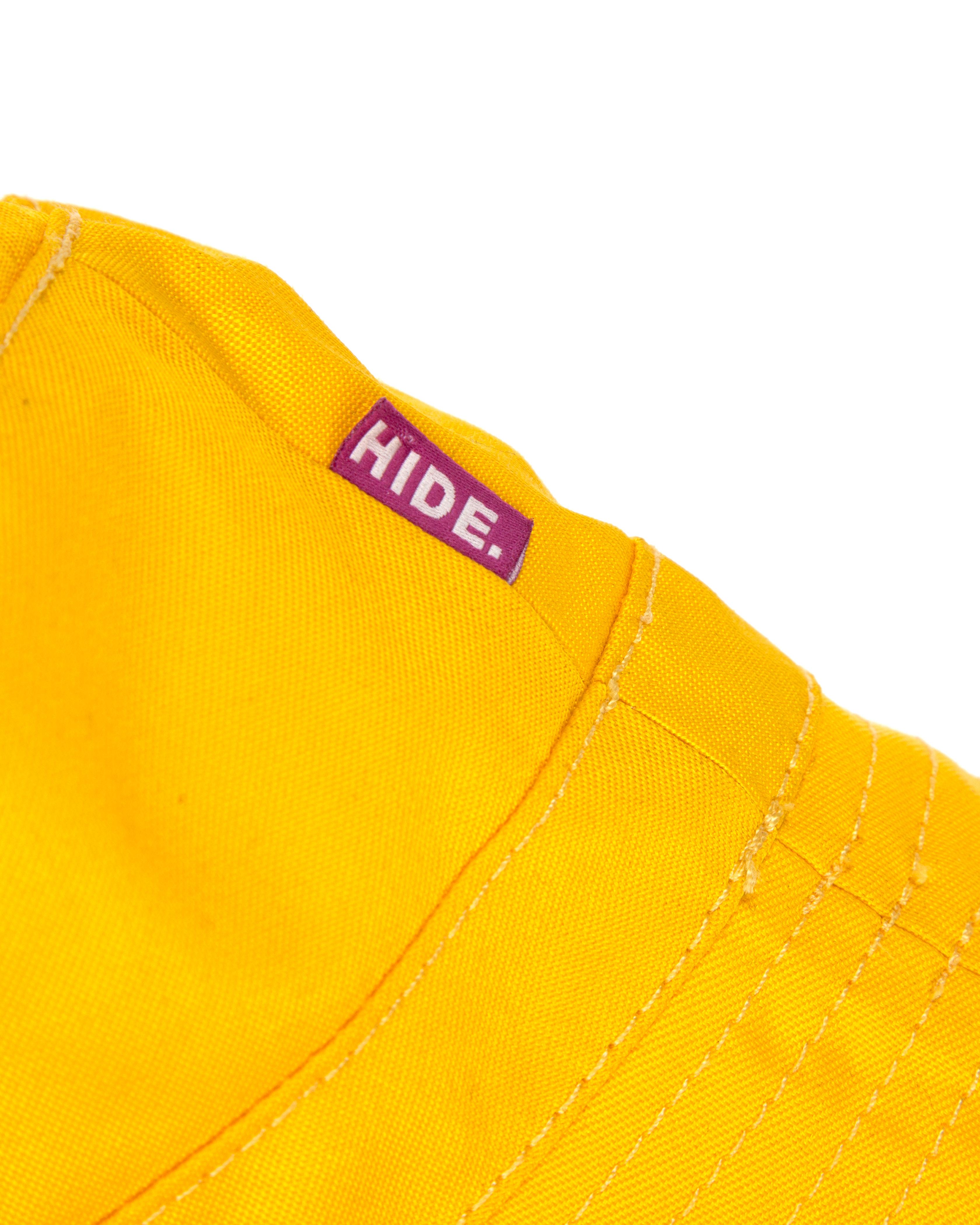 Панама Hide Yellow Waterproff Bucket Hat