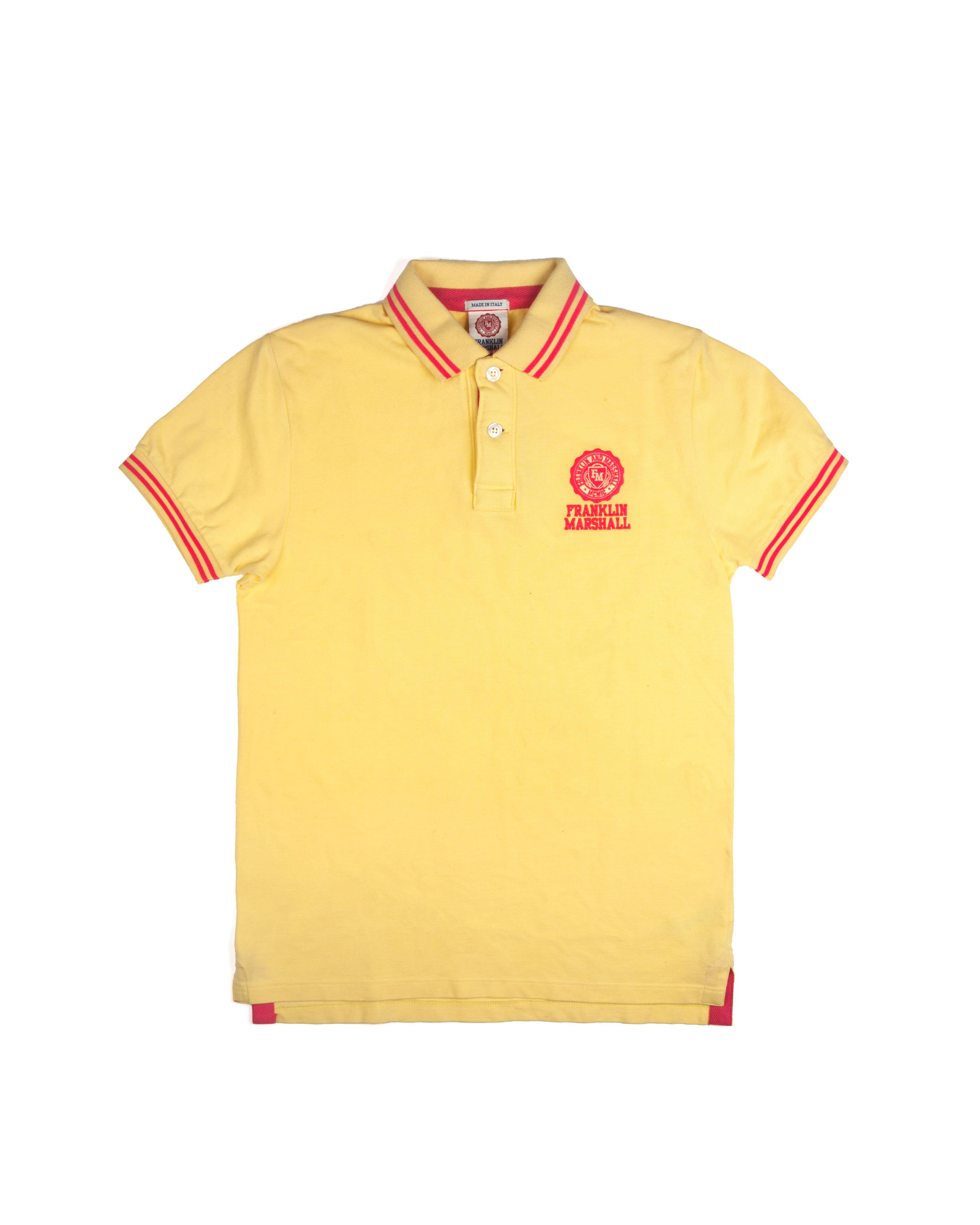 Футболка-поло Franklin&Marshall Yellow Polo Shirt