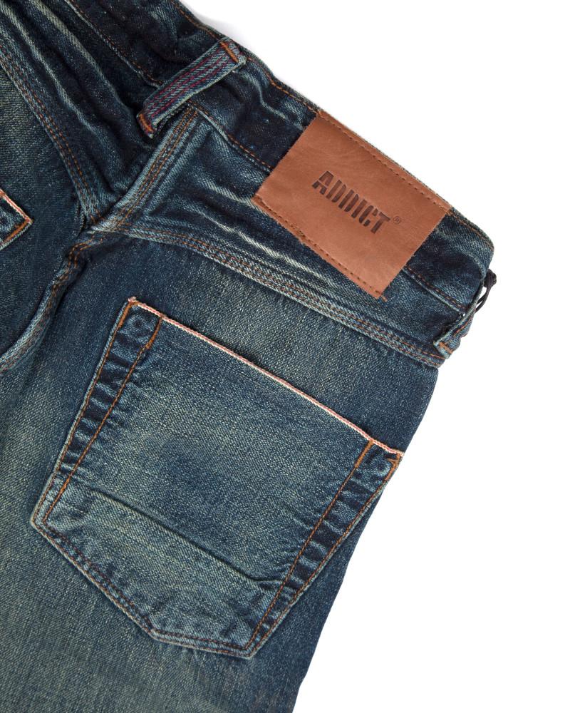 Джинсы Addict Jeans Straight Dark Blue
