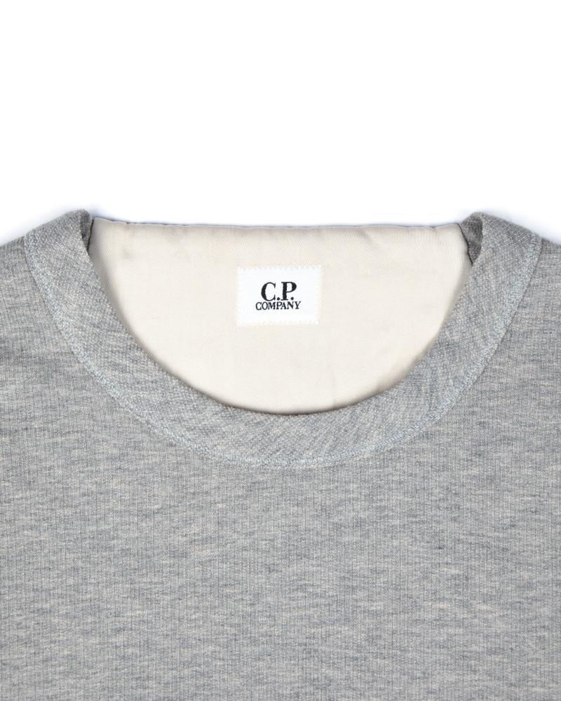Свитшот C.P.Company Small Logo Grey Sweatshirt