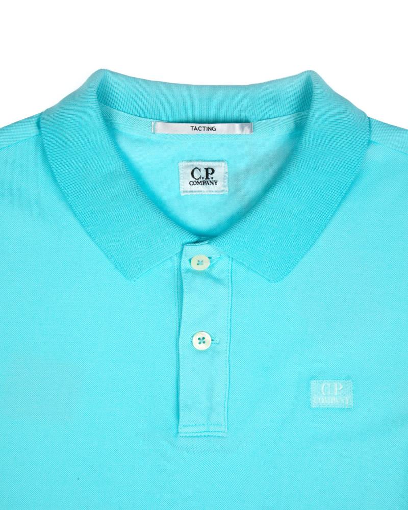 Футболка-поло C.P.Company Mint Small Logo Polo Shirt