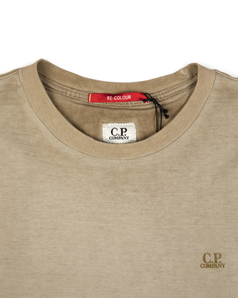 Футболка C.P.Company Small Logo Army Green