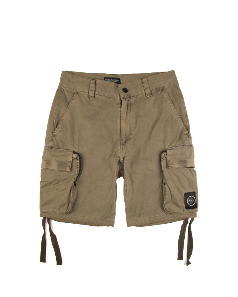 Шорты Marshall Artist Garment Dyed Cargo Short Khaki