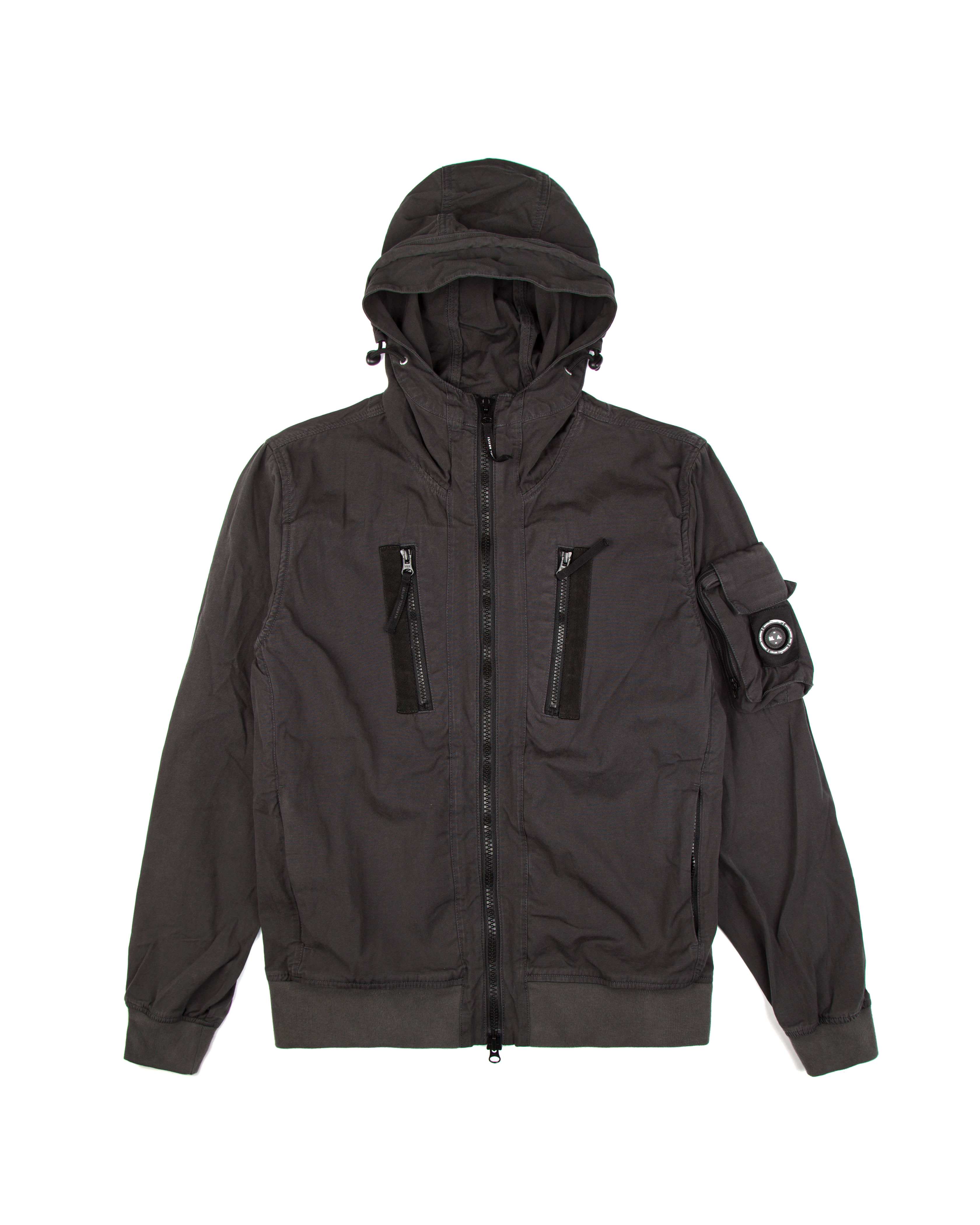 Бомбер Marshall Artist Garment Dyed Bomber Charcoal
