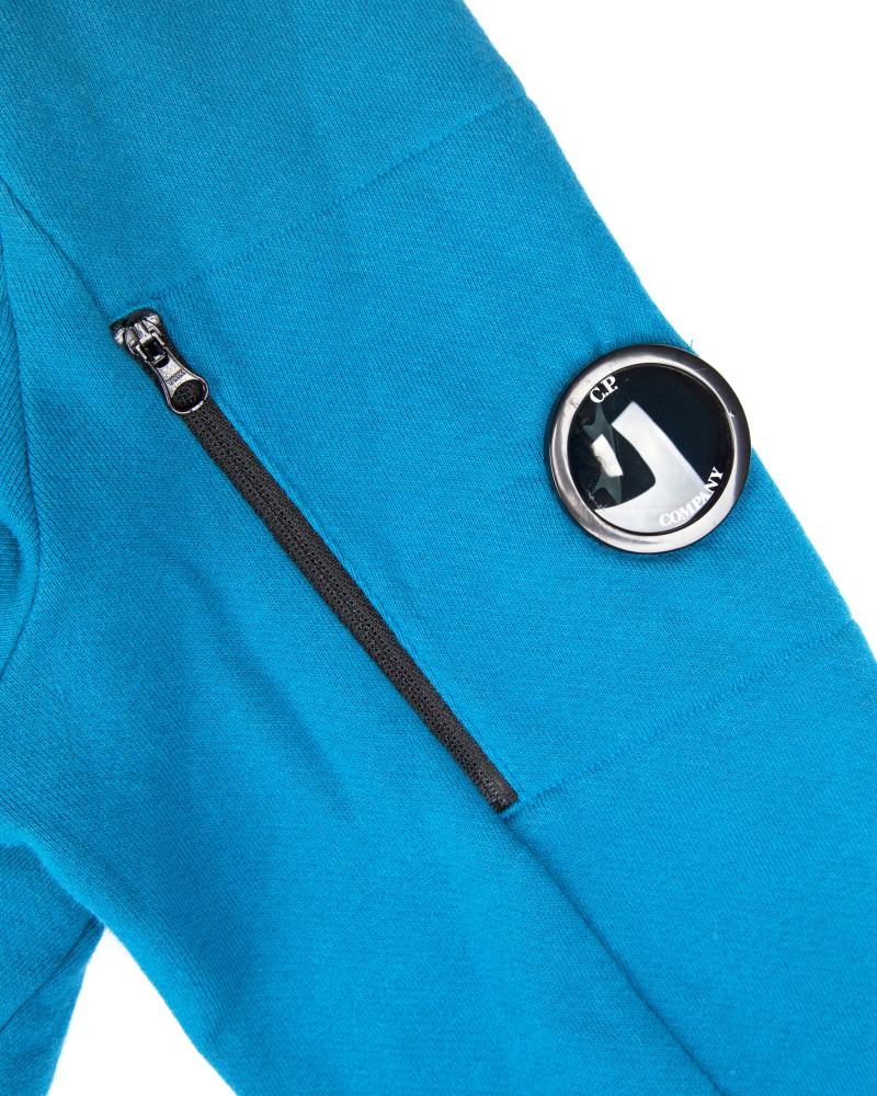 Худи C.P.Company Lens Hooded Sweatshirt Blue
