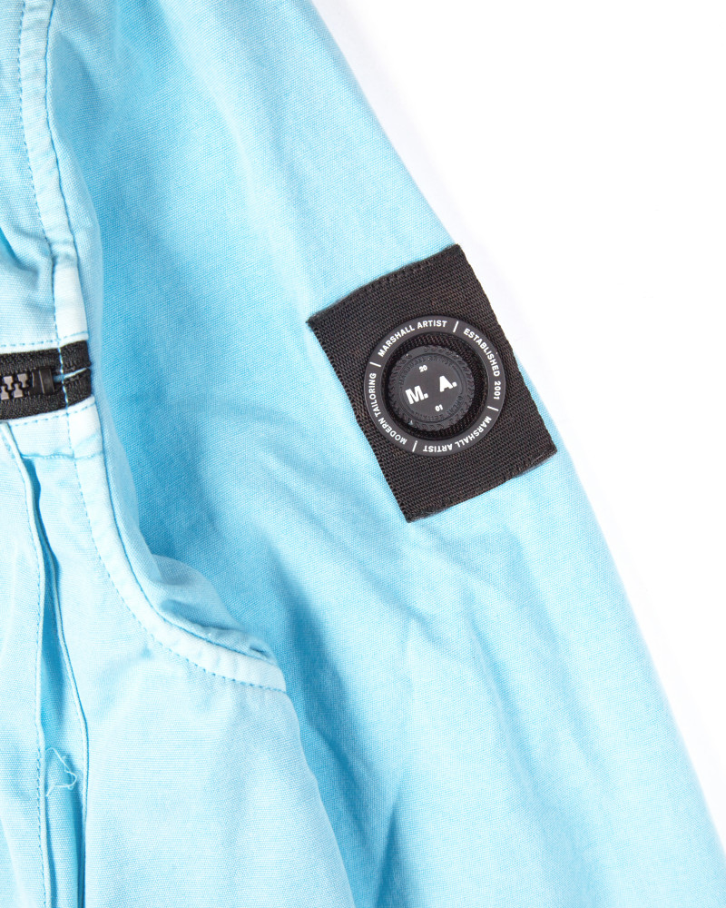 Куртка Marshall Artist Garment Dyed Overshirt Sky Blue