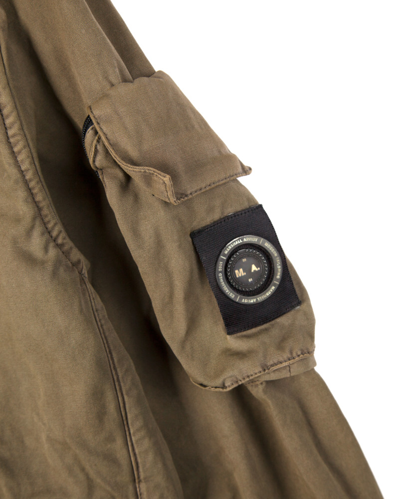 Бомбер Marshall Artist Garment Dyed Bomber Khaki