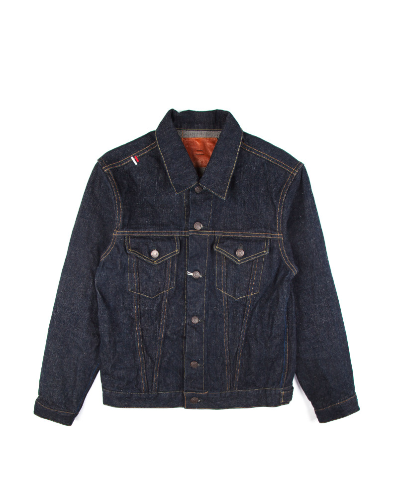 Куртка Tanuki PJKT3 Purple Selvedge Denim Jacket