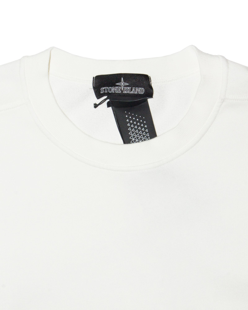 Свитшот Stone Island Shadow White Pocket Sweatshirt