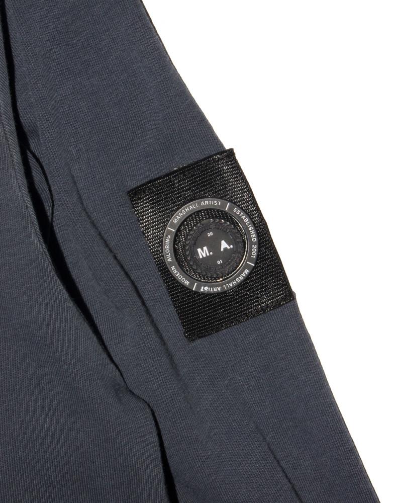 Лонгслив Marshall Artist Garment Dyed Navy Longsleeve Tee