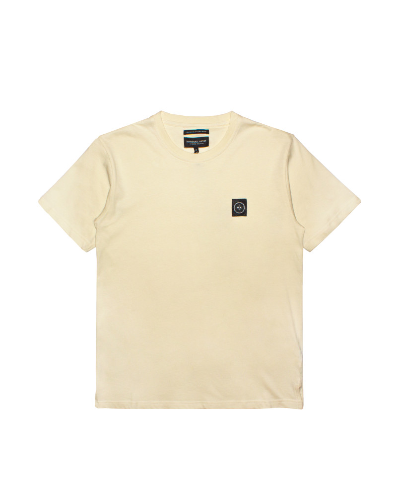 Футболка Marshall Artist Garment Dyed Cream Tee