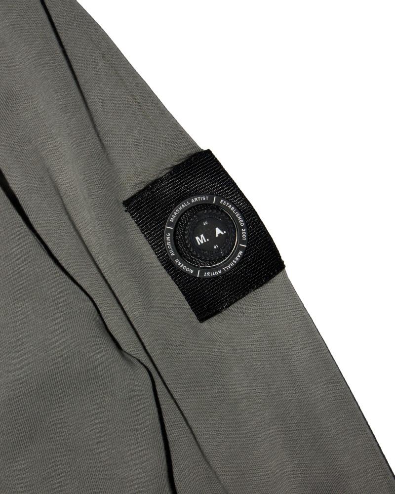 Лонгслив Marshall Artist Garment Dyed Grey Longsleeve Tee