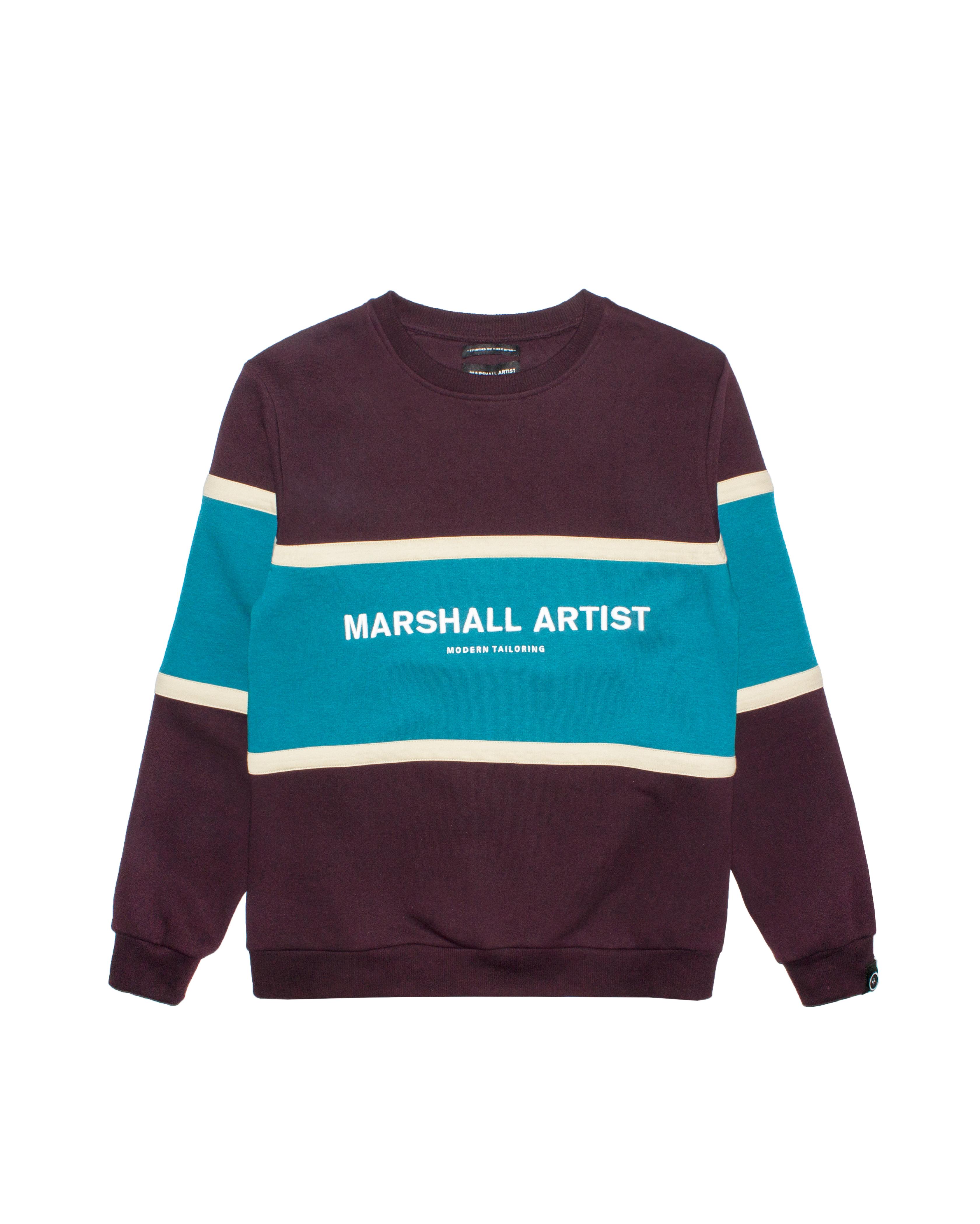 Свитшот Marshall Artist Crown Heights Burgundy