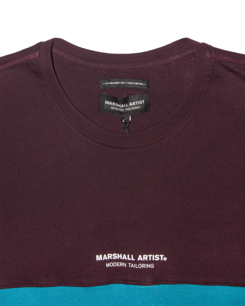 Футболка Marshall Artist Crown Heights Burgundy Tee