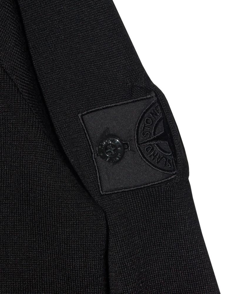Свитер Stone Island Shadow Cotton Sweater Black