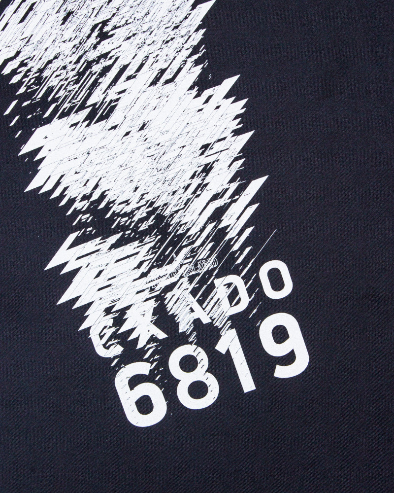 Футболка Stone Island Shadow Project Printed Navy Tee