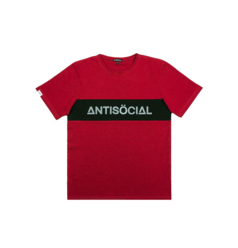 Футболка ANTISOCIAL Classic 2.1 Bordeaux