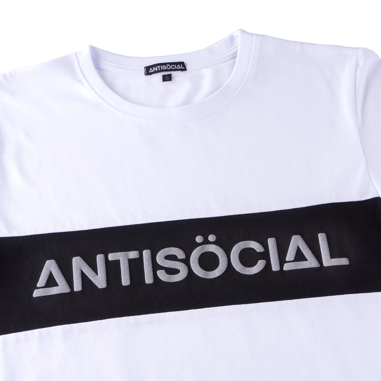 Футболка ANTISOCIAL Classic Sport White