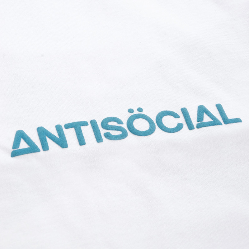 Футболка ANTISOCIAL Cross 2.0 White