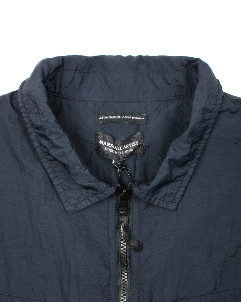 Ветровка Marshall Artist Garment Dyed Overshirt Navy