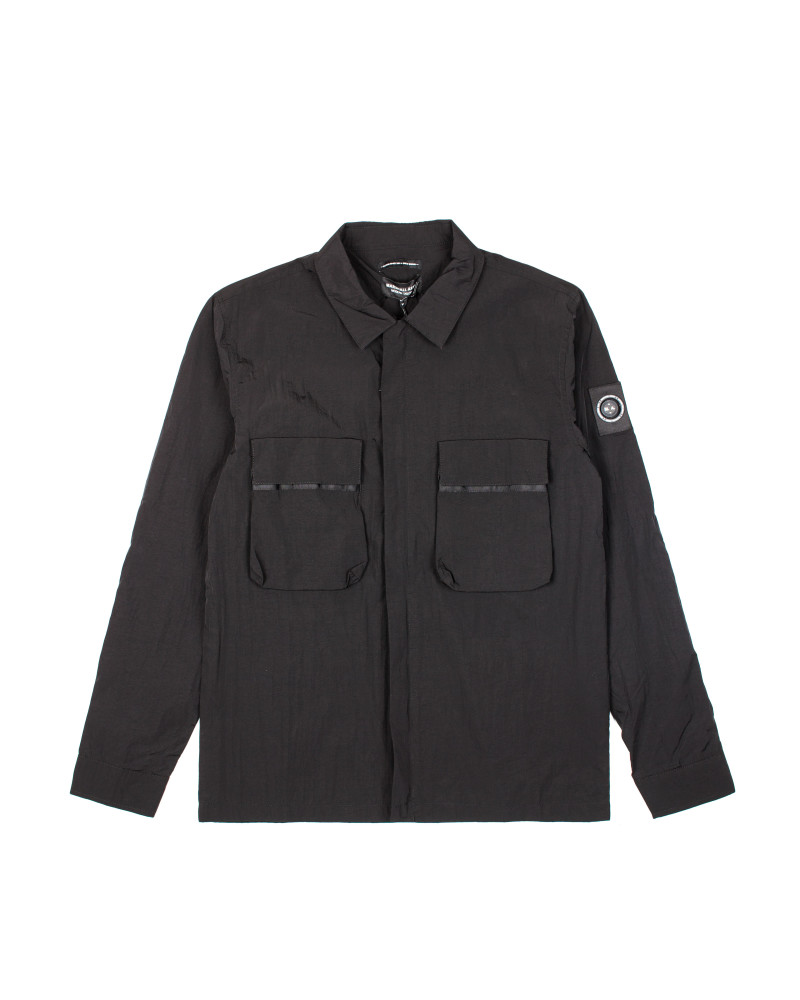 ad9d82efa2f Ветровка Marshall Artist Liquid Bellow Overshirt Black ...
