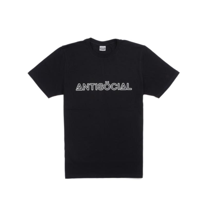 Футболка ANTISOCIAL Reflective Logo Black