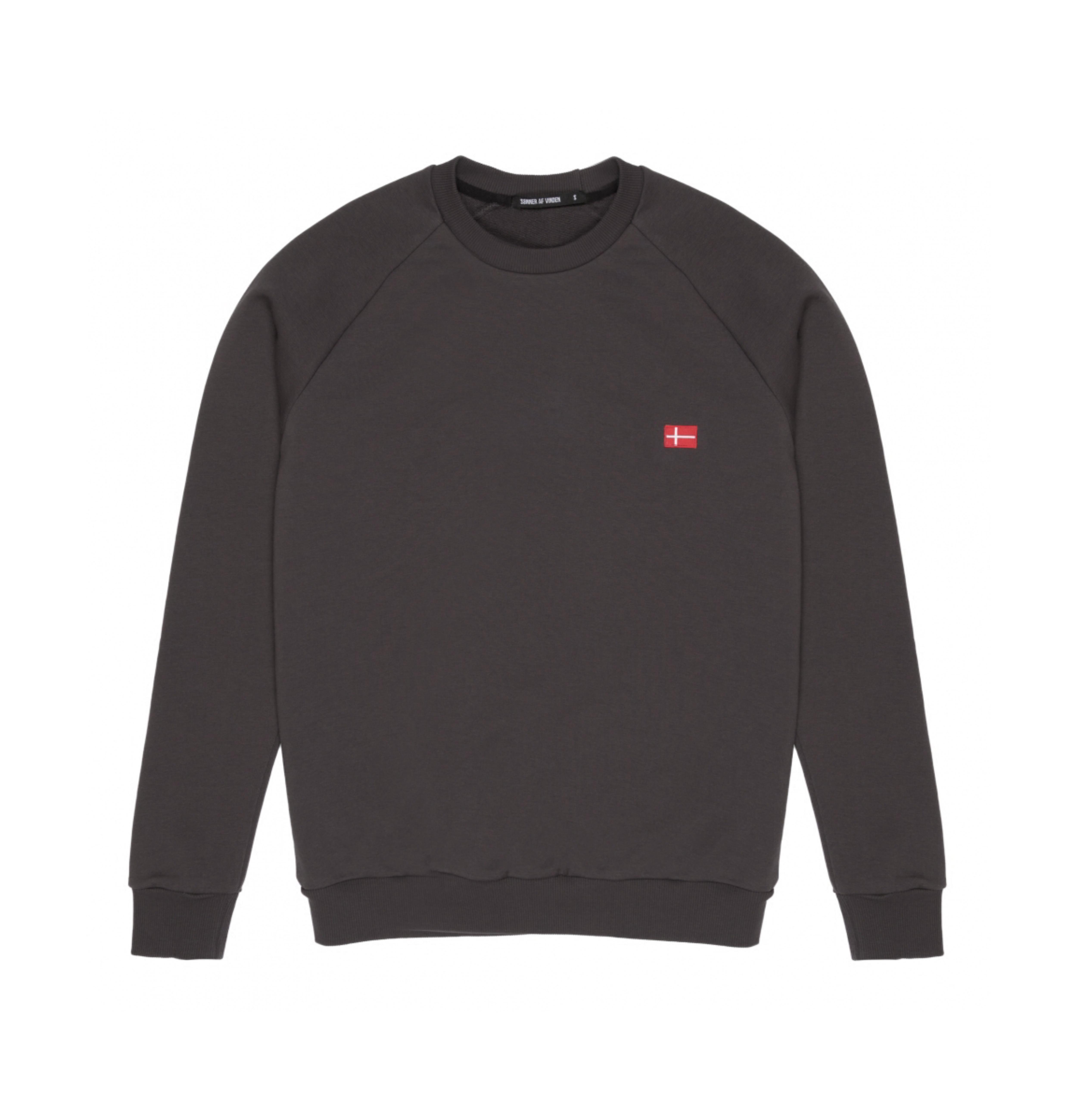 Свитшот Sonner Af Vinden Cross Charcoal Sweatshirt