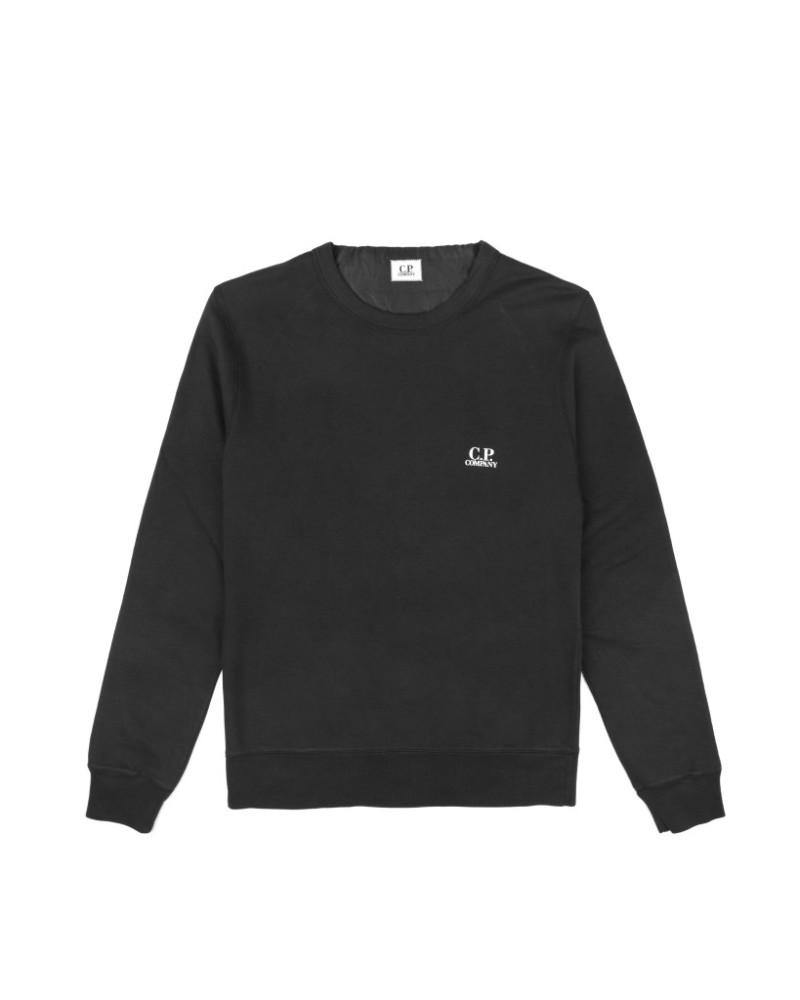 Свитшот C.P.Company Small Logo Black Sweatshirt