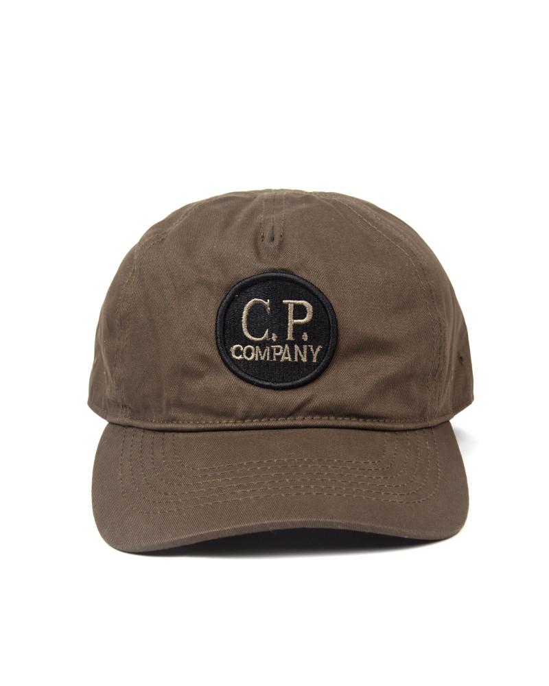 Кепка C.P.Company Baseball Logo Lens Cap Army Green