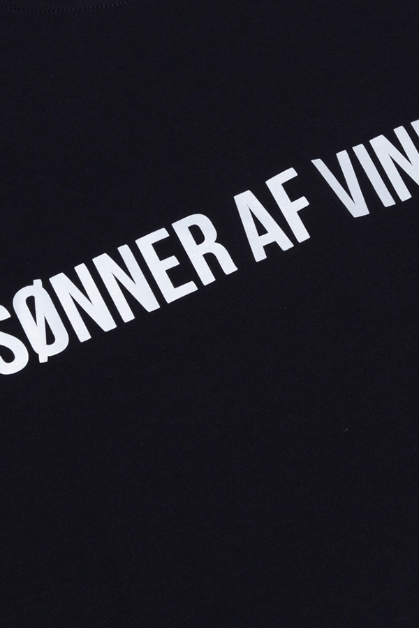 Футболка Sonner Af Vinden Bar Logo Reflective Navy