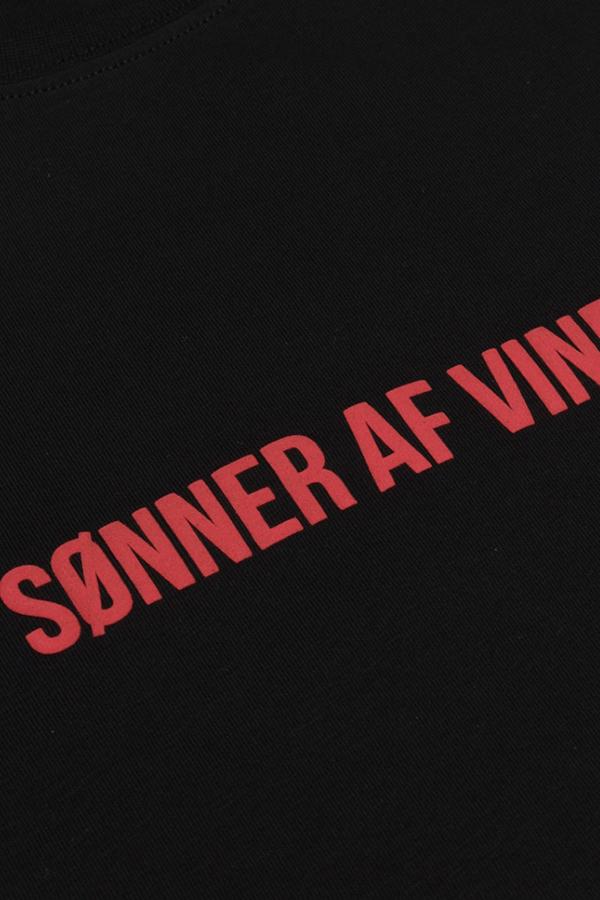 Футболка Sonner Af Vinden Muspelheim D Black
