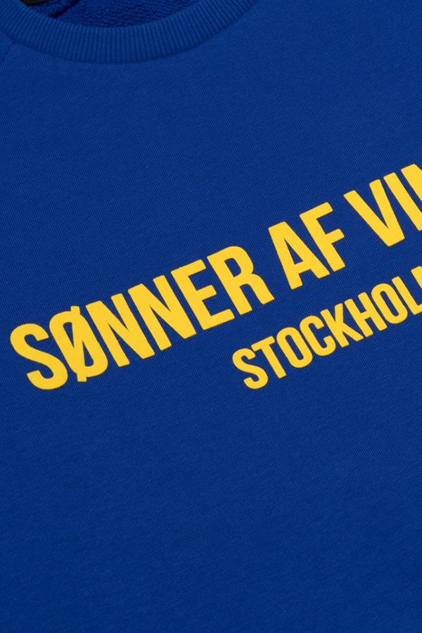 Свитшот Sonner Af Vinden Bar Logo SW Royal Blue