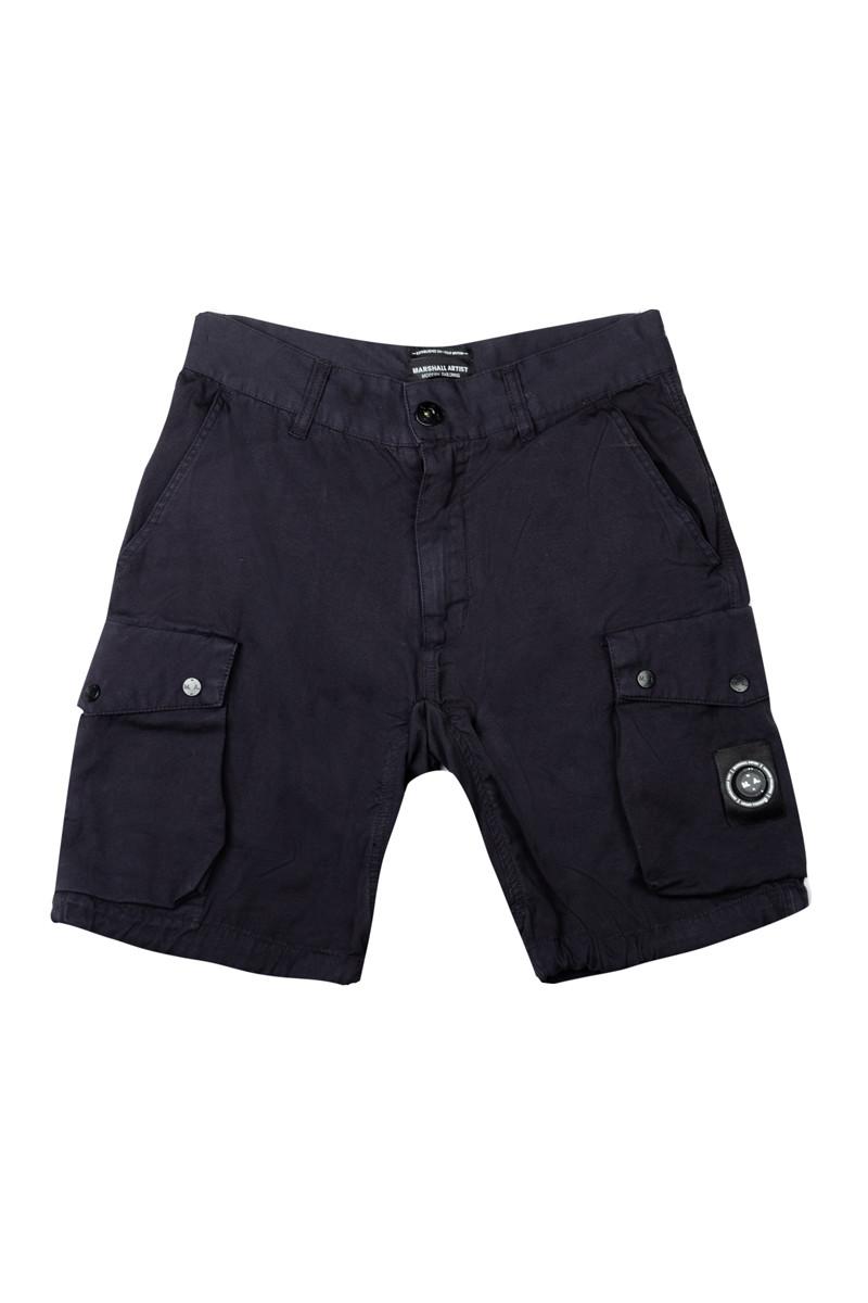 Шорты Marshall Artist Garment Dyed Cotton Short SS19 Navy