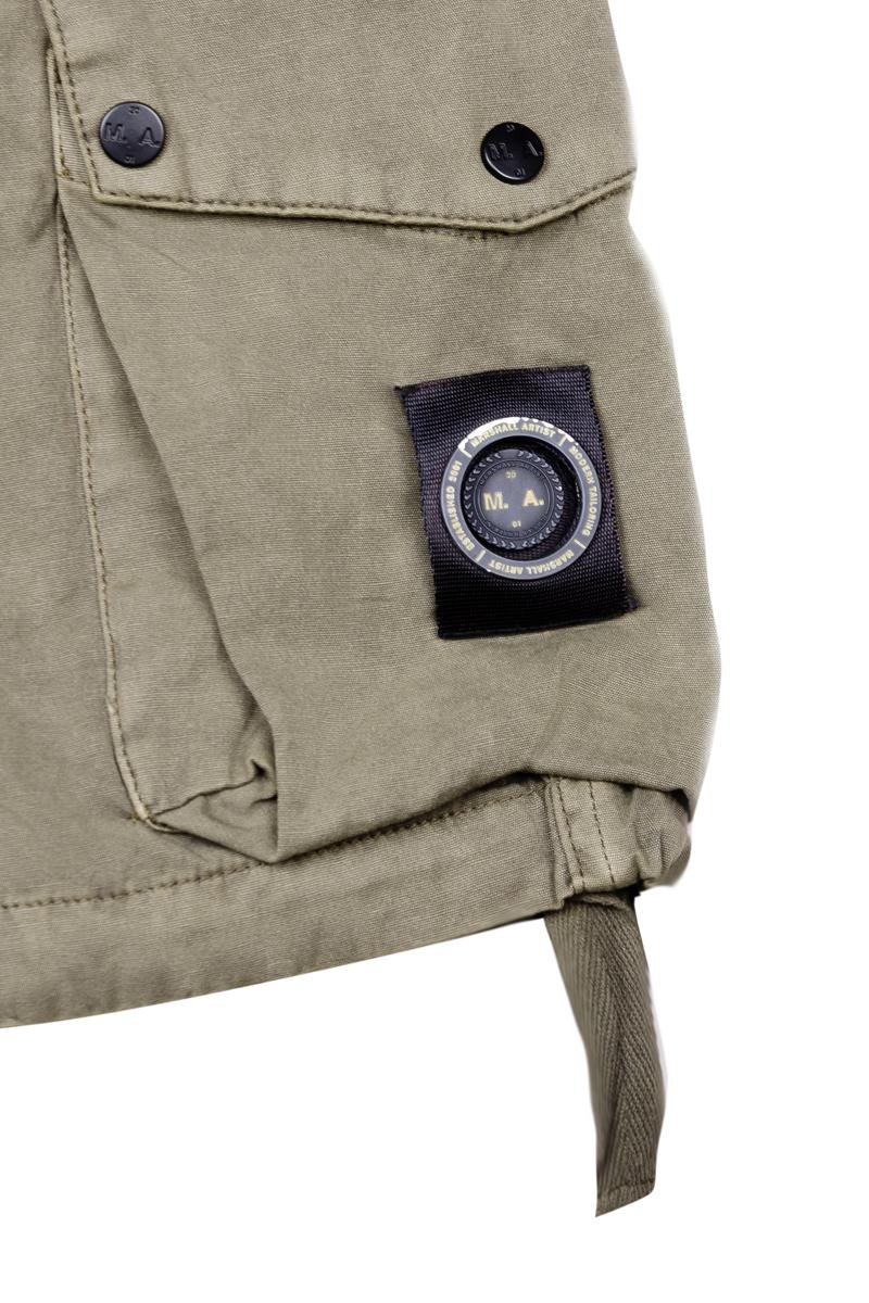 Шорты Marshall Artist Garment Dyed Cotton Short SS19 Khaki