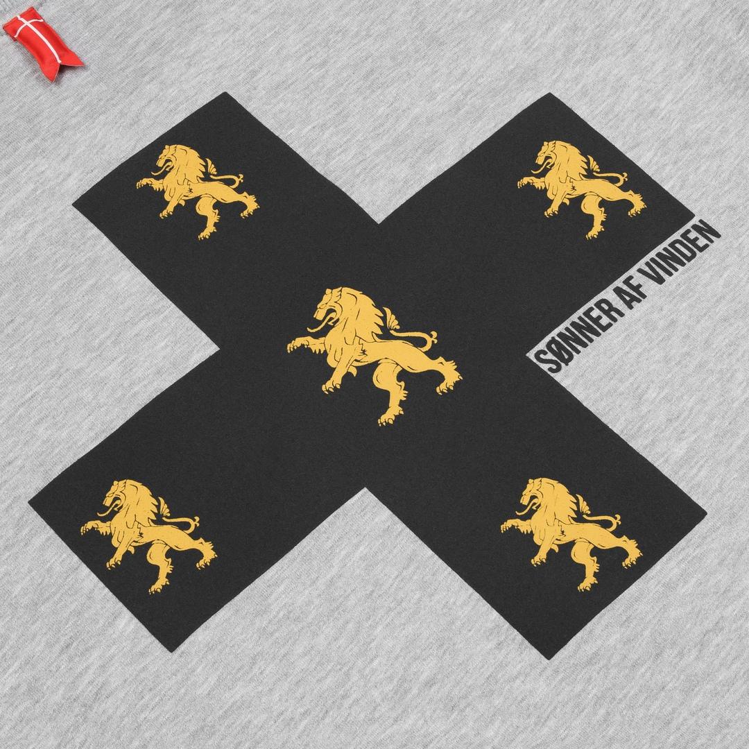 Толстовка Cross Lions Gray