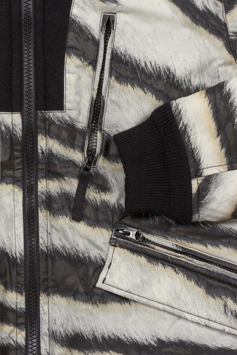 куртка STONE ISLAND TIGER CAMO PRIMALOFT JACKET