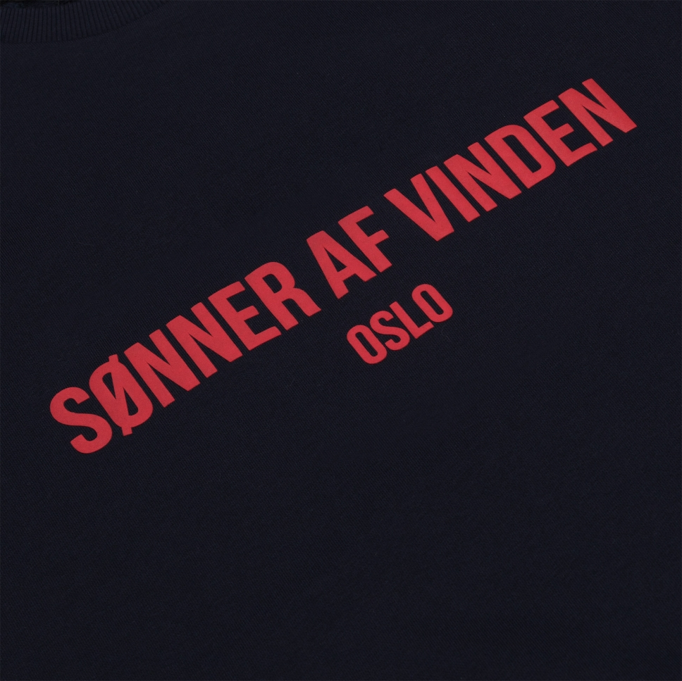 Толстовка Bar Logo Oslo Sonner af Vinden