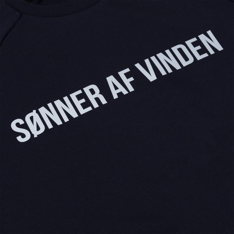 Толстовка Sonner af Vinden Bar Logo Navy Reflective