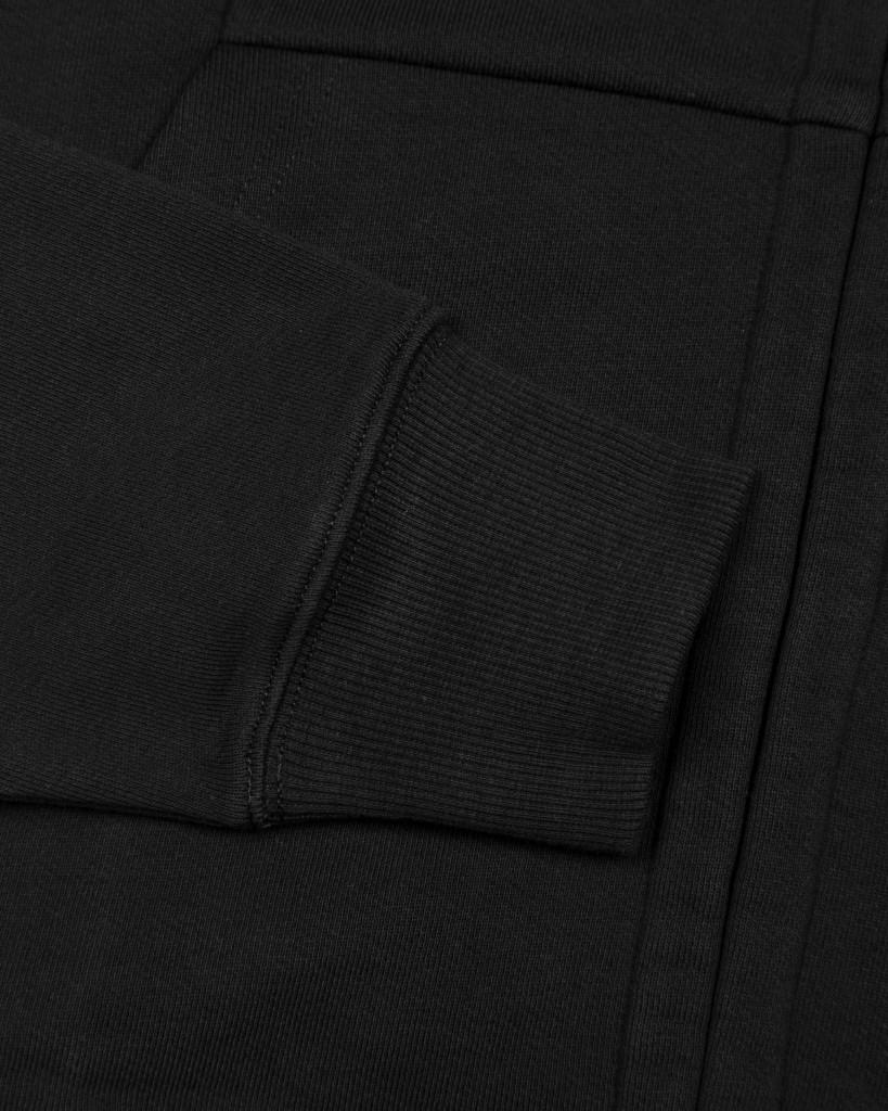 толстовка C.P.Company Diagonal Fleece Goggle Sweatshirt in Black