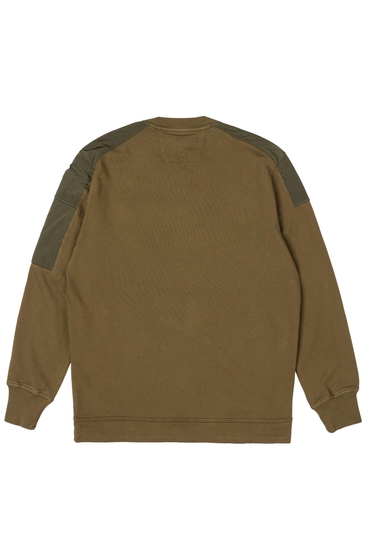 свитшот C.P.Company Cotton Fleece Crew