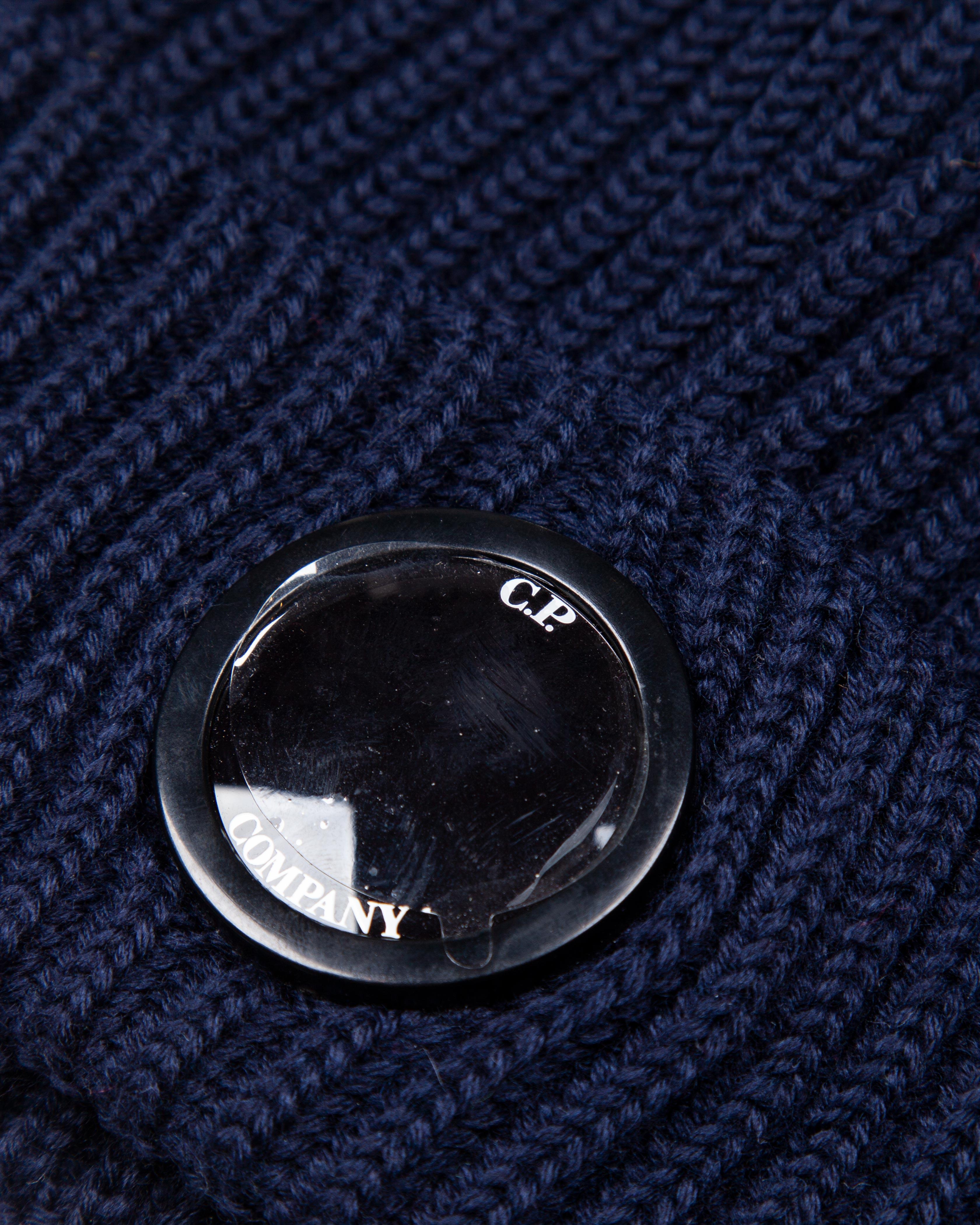 Шапка C.P.Company Mono Lens Wool Navy Hat