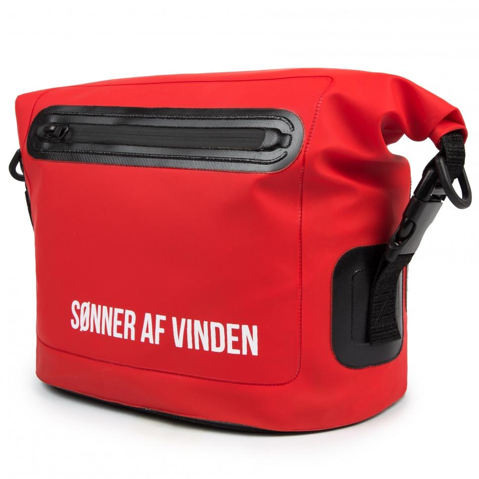 Сумка Bar logo Bag Waterproof 10 Red SONNER AF VINDEN