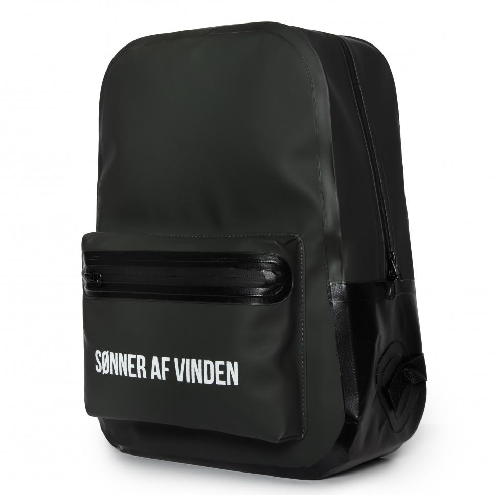 Рюкзак Bar Logo Backpack Waterproof 15 Olive SONNER AF VINDEN