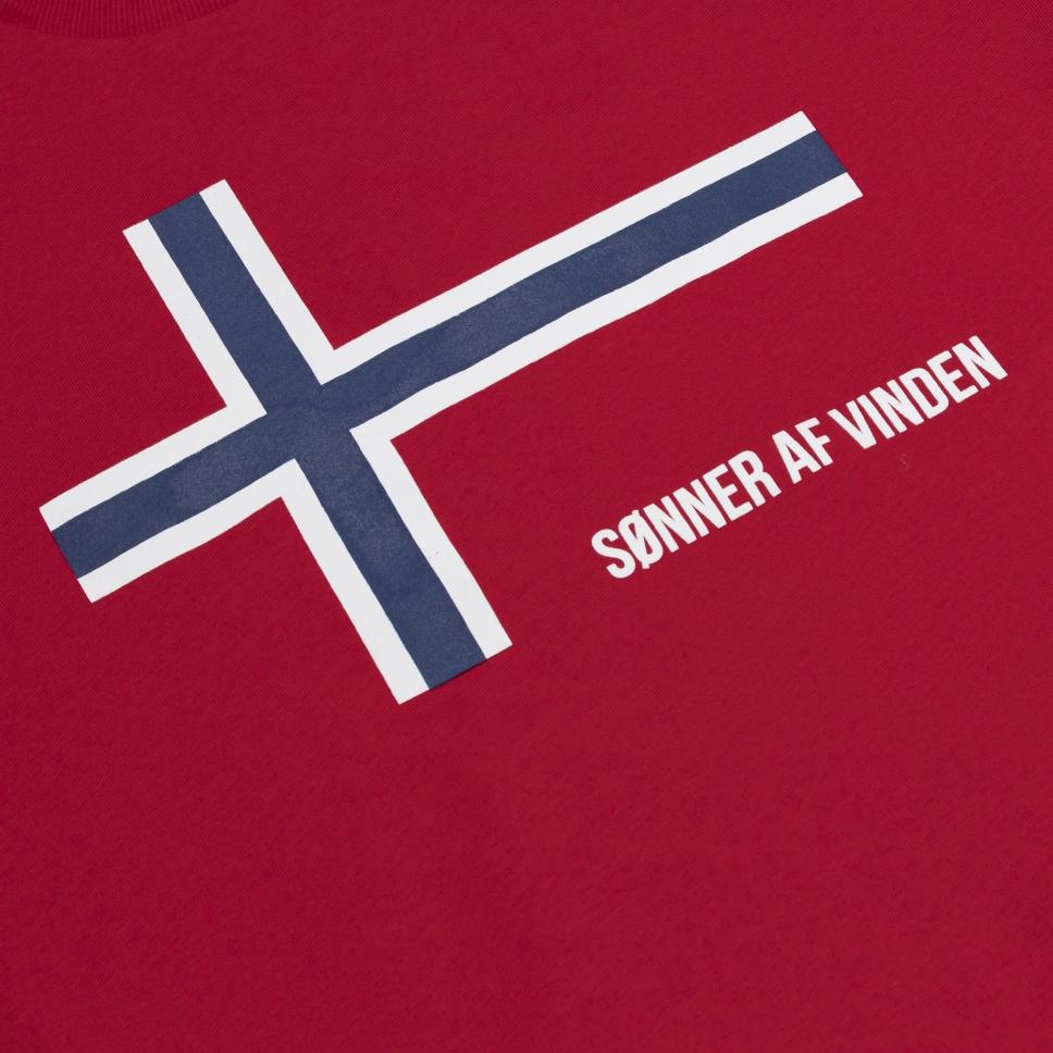 Толстовка Sonner Af Vinden Norde Red