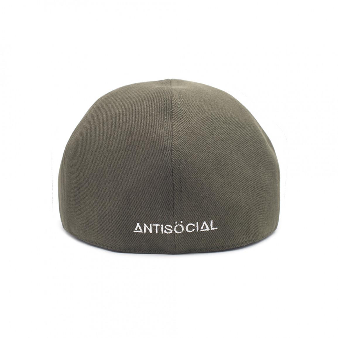 кепка FLAT CAP KHAKI ANTISOCIAL