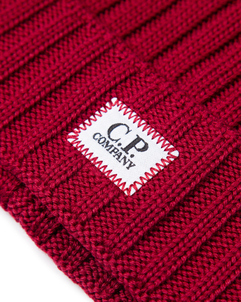C.P.COMPANY шапка EXTRA FINE MERINO WOOL BEANIE