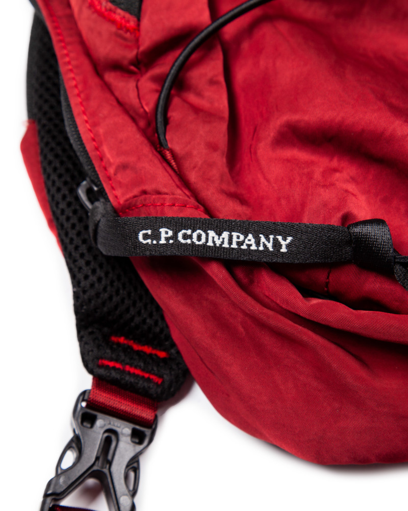 C.P.Company сумка  GARMENT DYED NYLON SATEEN LENS SHOULDER BAG