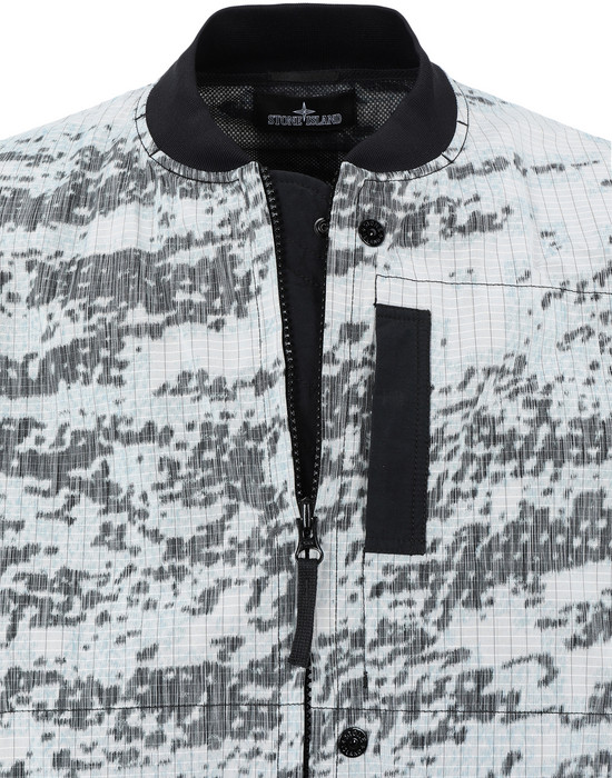 STONE ISLAND SHADOW PROJECT  40412 BOMBER JACKET (DPM CHINÉ)